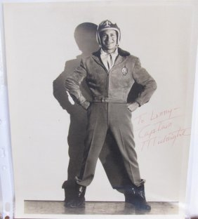 Captain Midnight Signed Photograph