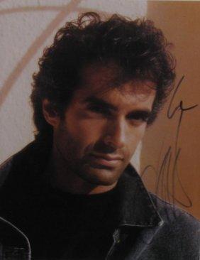 David Copperfield Signed Headshot