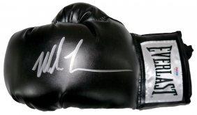 Mike Tyson Everlast Signed Glove With Psa Coa