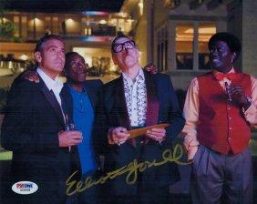 Signed Elliot Gould 8 X 10 Autographed - Psa/dna