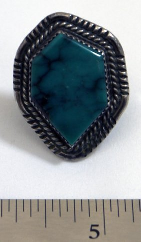 Turquoise Sterling Silver Ring By M. Bengay