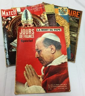 Various Vintage French Magazines