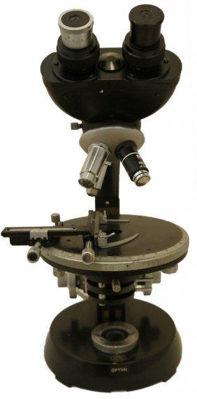 German Carl Zeiss Jena Microscope