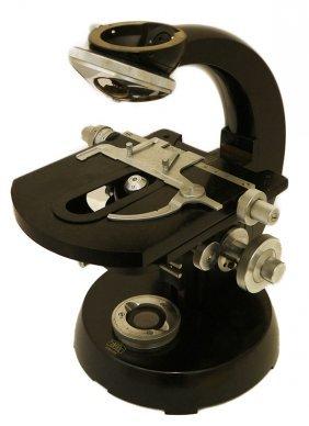 German Carl Zeiss Jena Microscope Body Only