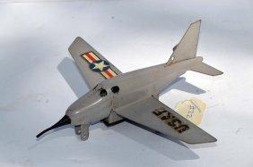Vintage Wyandotte Usaf Friction Airplane