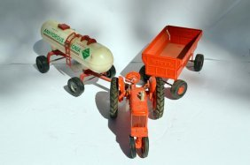 3 Piece Ertl Collection Including Tractor, Trailer And