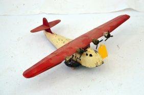 Vintage Wyandotte Paa China Clipper Airplane