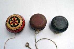 Lot Of 3 Vintage Yo-yo's