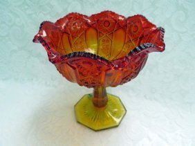 Vintage Hobster And Arches Compote