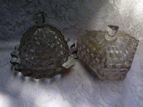 2 Pieces Of Fostoria American