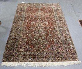 Vintage Tree Of Life Oriental Carpet.