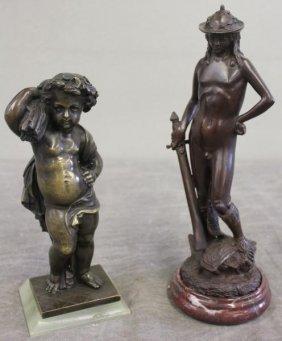 2 Bronzes.