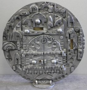 Midcentury Judaica Sculpture.