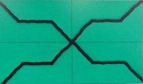 YRISARRY, Mario. Abstract O/C X-Form Composition.