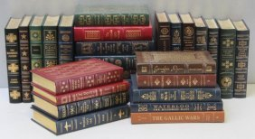 "Leather Books, Easton Press, ""military History"""
