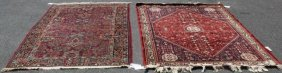 Lot Of 1 Vintage And 1 Antique Handmade Carpets.