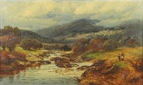 Harris, William E. Oil On Canvas. English