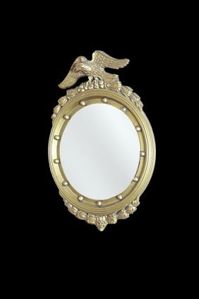 Early 20th C. Giltwood Mirror