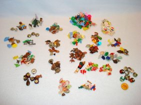 Lot Of 200+ Charms, Premiums, And Cracker-jack Items