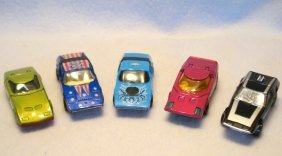 Five Lesney Matchbox Cars Including: 1) Superfast # 52