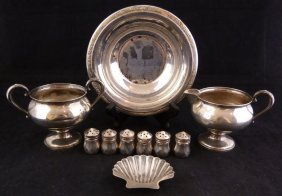 Ten Gorham & More Sterling Silver Table Items