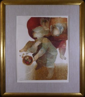 Sunol Alvar Lithograph Signed & Numbered 48/50