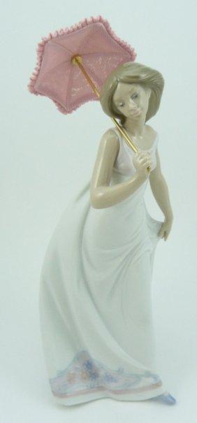 "Lladro ""afternoon Promenade"" #7636 1995 Statue"