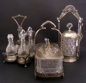 Meriden & Reed And Barton Silverplate Service Sets