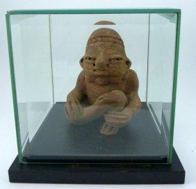 Pre Columbian Teotihuacan Figural Carving