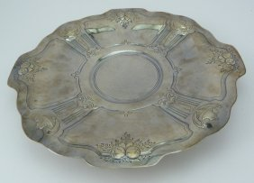Reed & Barton Sterling Silver Decorative Platter