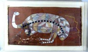 George Djayh-gurrna Aboriginal Painting