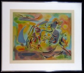 Andre Masson Lithograph Pencil Signed Artist Proof
