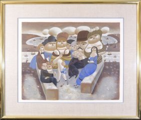 Yuri Krasny Lithograph Signed Numbered 14/35