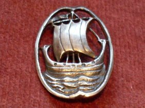 Alexander Ritchie Viking Ship Brooch