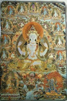 Fine Tibetan Thangka