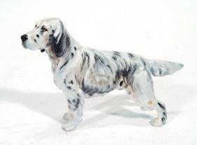 Hand Painted Royal Doulton Dog, HM1051 Printed And