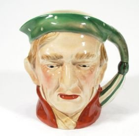 Hand Painted Beswick 'Scrooge' Character Jug, Impr