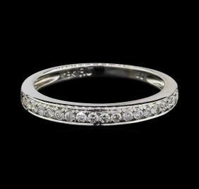 18KT White Gold 0.20ctw Diamond Ring