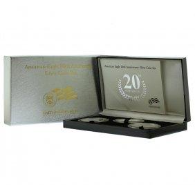2006 $1 American Eagle 20th Anniversary Silver (3) Coin
