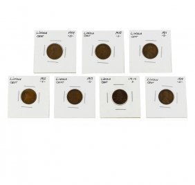 Key Date Lincoln Cent Coin Set- 1909-s 1910-s 1911-s