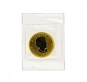 2012 $10 Canada 1/4 Oz. Gold Coin Sealed