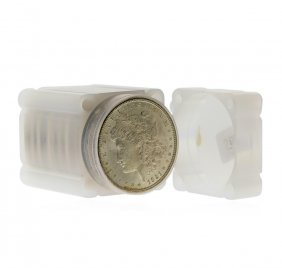 1921 $1 Morgan Silver Dollar Roll Of (20) Coins