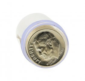 Roll Of (50) 1959-p Brilliant Uncirculated Roosevelt