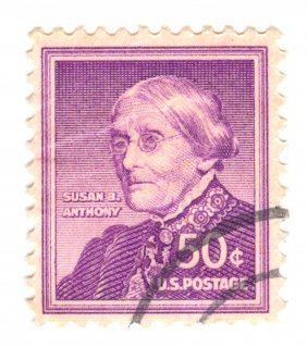 1958 Susan B. Anthony Postage Stamp