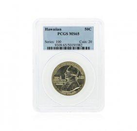 1928 Hawaiian Half Dollar Commemorative Coin Pcgs