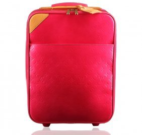 Authentic Louis Vuitton Vernis Rolling Suitcase Luggage