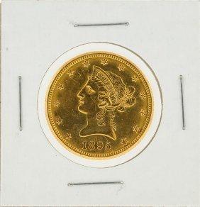1895-o $10 Liberty Head Gold Coin