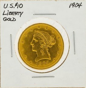 1904 $10 Liberty Head Gold Coin