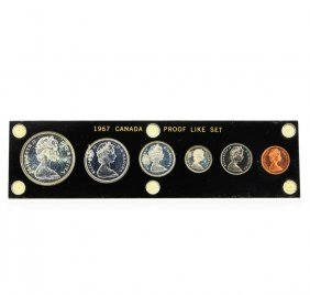 1967 Canadian Proof 6 Coin Set