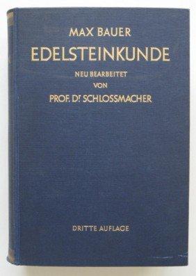 Max Bauer- Edelsteinkunde Book